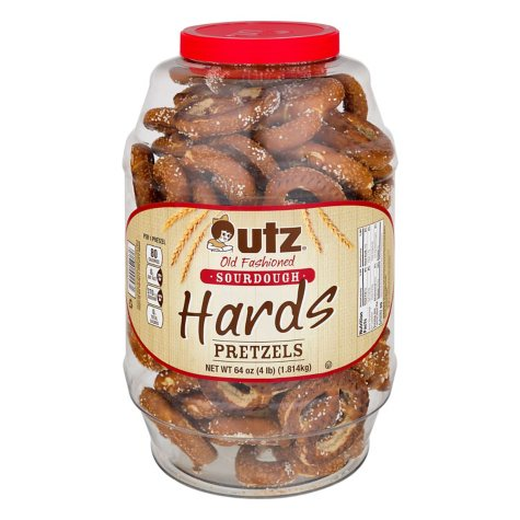 Utz Sourdough Hard Pretzels (4 lbs.)