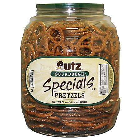Utz Sourdough Special Pretzel Canister (3.25 lbs.)