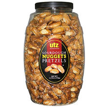 Utz Sourdough Pretzels Nuggets Barrel 3.25lbs. (2 ct.)