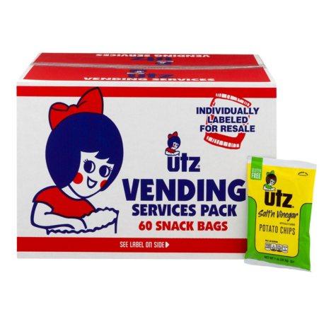 Utz Salt and Vinegar Chips (1 oz., 60 ct.)