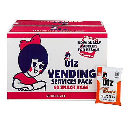 Utz Honey BBQ Chips (1 oz., 60 ct.)