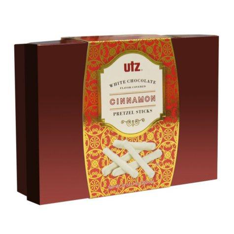 Utz White Chocolate Covered Cinnamon Pretzel Sticks (16 oz.)