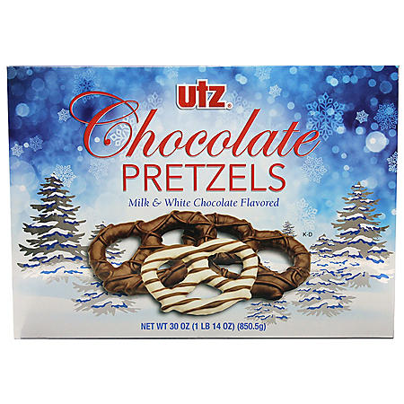 Utz Chocolate-Covered Pretzel Box (30 oz.)