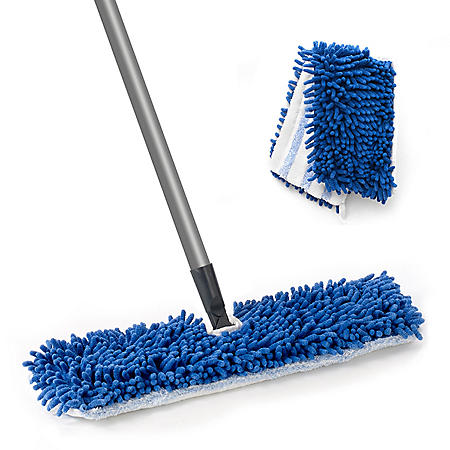 O-Cedar Professional Dual-Action Microfiber Flip Mop with Extra Refill