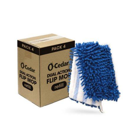 O-Cedar Dual-Action Flip Mop Refills (4 pk.)