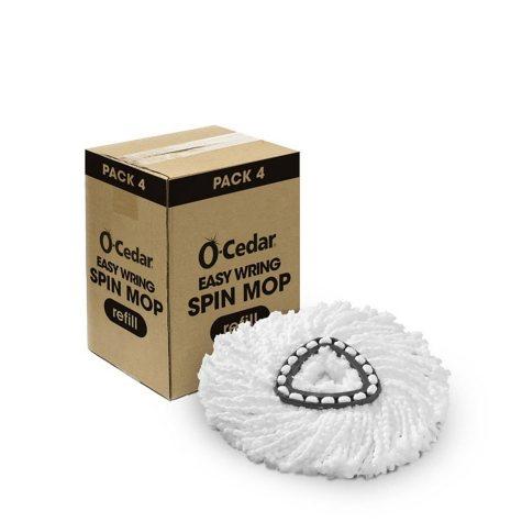O-Cedar EasyWring Microfiber Spin Mop Refill (4pk.)