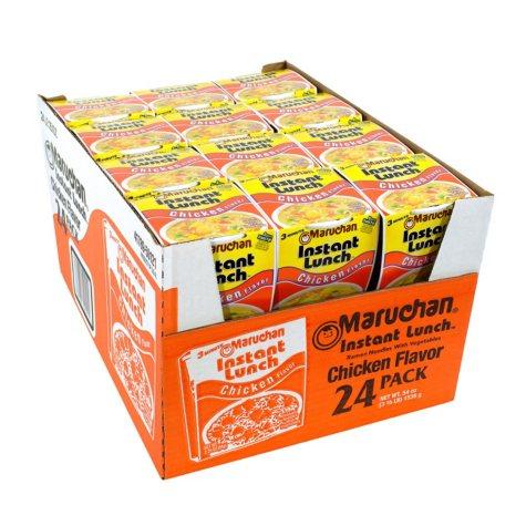 Maruchan Instant Lunch, Chicken Flavor (2.25 oz., 24 ct.)