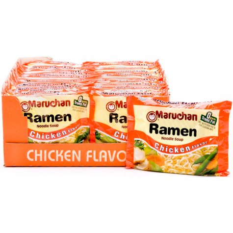 Maruchan® Ramen Noodle Soup - Chicken - 24/3 oz.