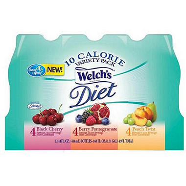 Welch's Diet Juice Beverage - Variety Pack