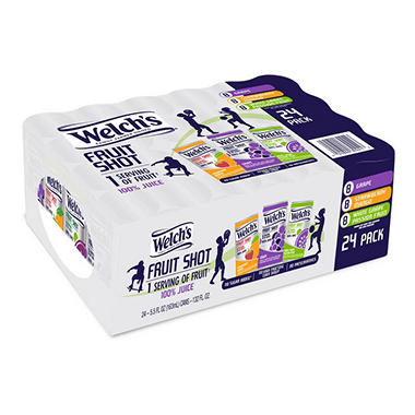 Welch's Fruit Shot Variety Pack (5 fl. oz., 24 pk.)