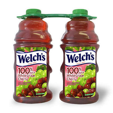 Welch's 100% White Grape Cherry Juice - 64 oz. - 2 ct.