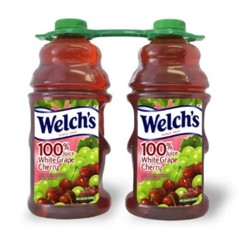 Welch's 100% White Grape Cherry Juice - 64 oz. - 2 ct.