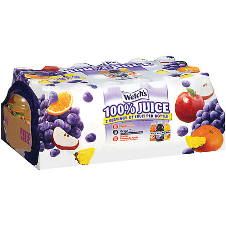 Welch's 100% Juice Variety Pack - 10 fl. oz. - 24 ct.