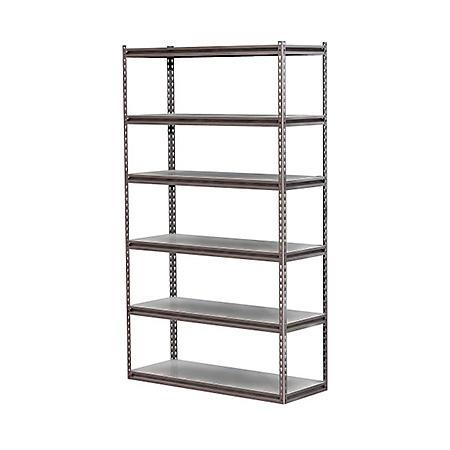 Z-Beam 6-Shelf Storage Rack
