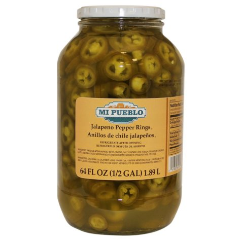 Mi Pueblo Jalapeno Pepper Rings (64 oz.)