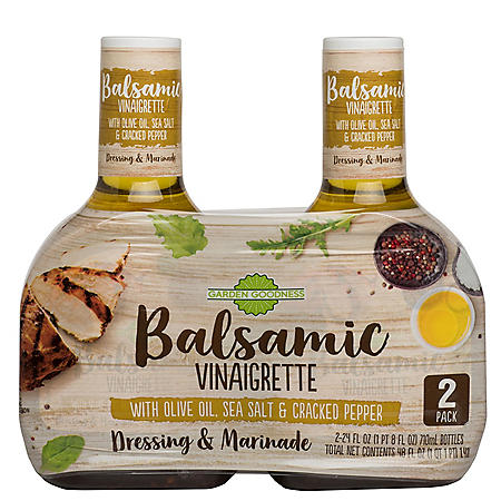 Garden Goodness Balsamic Vinaigrette (24 oz., 2pk.)