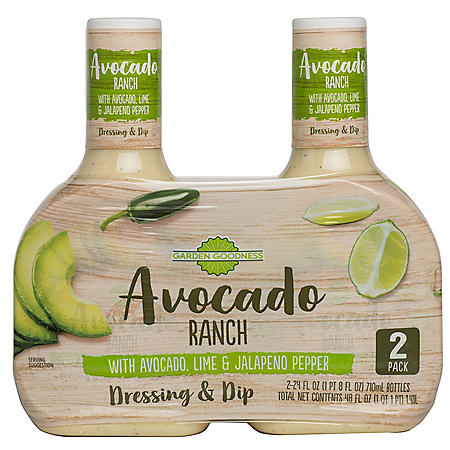 Garden Goodness Avocado Ranch (24 oz., 2pk.)