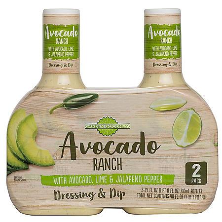 Garden Goodness Avocado Ranch (24 oz., 2pk.)