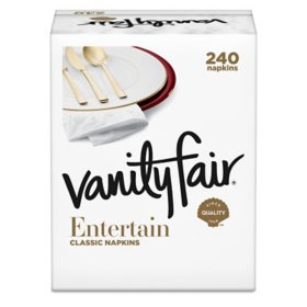 Vanity Fair Napkins, 3-ply (240 ct.)