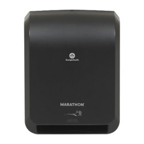 Marathon Automatic Hand Towel Dispenser (Black)
