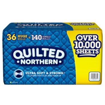 Quilted Northern Bathroom Tissue, 36 Huge Rolls, 300 sheets