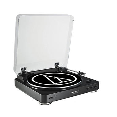 Audio-Technica AT-LP60-USB Fully Automatic Belt-Drive Stereo Turntable (USB & Analog)- Assorted Colors