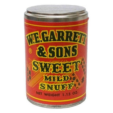 W. E. Garrett & Sons Sweet Snuff (1.15 oz. jar, 12 pk.)