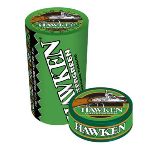 Hawken® Wintergreen - 5/1.2 oz. cans