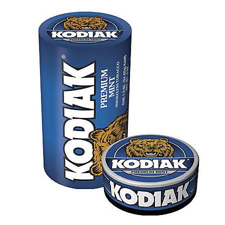 Kodiak Mint - 5/1.2 oz. cans