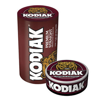Kodiak® Straight Smokeless Tobacco-5/1.2 oz. cans