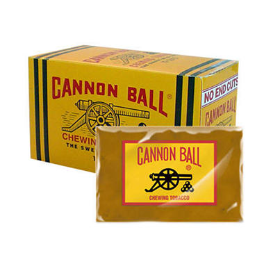 Cannon Ball Plug Chewing Tobacco - 12 / 2.33 oz.