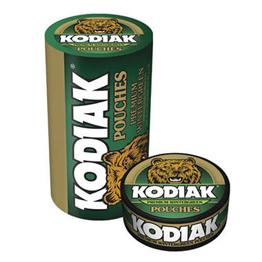 Kodiak Wintergreen Pouches