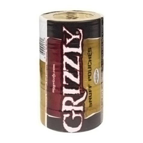 Grizzly Snuff Pouches (5 cans)