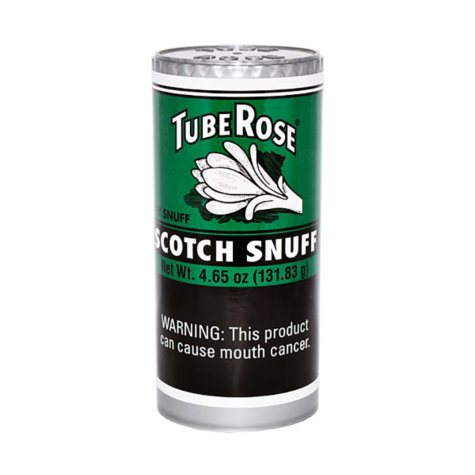 Tube Rose Scotch Snuff (4.65 oz., 12 ct.)