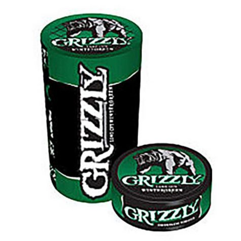Grizzly Wintergreen Pouch, Pre-Priced $3.59 (5 ct. roll)