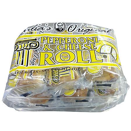 Julia's Original Pepperoni and Provolone Cheese Roll (6 pk.)