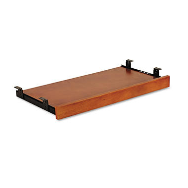 Alera Verona Veneer Series Keyboard/Mouse Shelf - Cherry