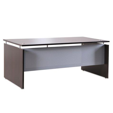 "Alera 66"" SedinaAG Series Straight Front Desk Shell, Esspresso"