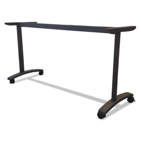 "Alera Valencia Series 58"" Training Table T-Leg Base, Black"