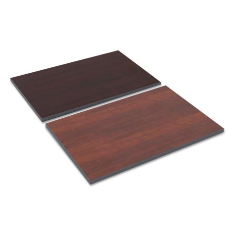 "Alera 36"" Rectangular Reversible Laminate Table Top, Medium Cherry/Mahogany"