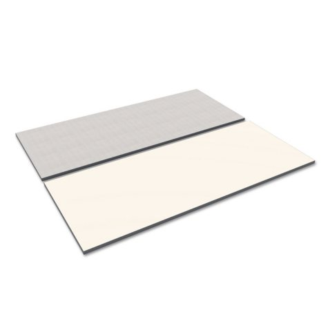 "Alera 71"" x 29"" Rectangular Reversible Laminate Table Top, Select Color"