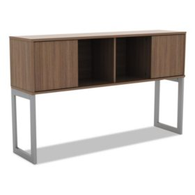 "Alera 60"" Open Office Desk Series Hutch, Select Color"