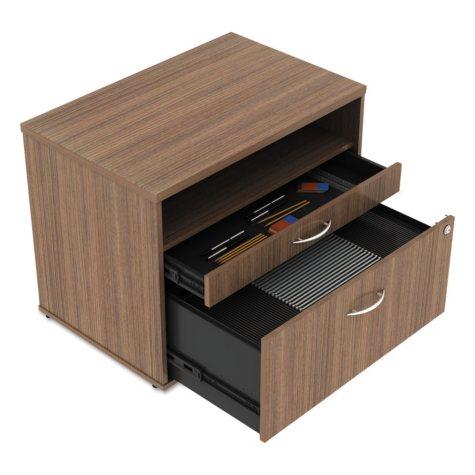 "Alera 29 ½"" Open Office Series Low-File Cabinet Credenza, Select Color"