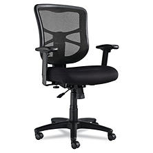 Top Rated Alera Elusion Series Mesh Mid Back SwivelTilt Chair Black