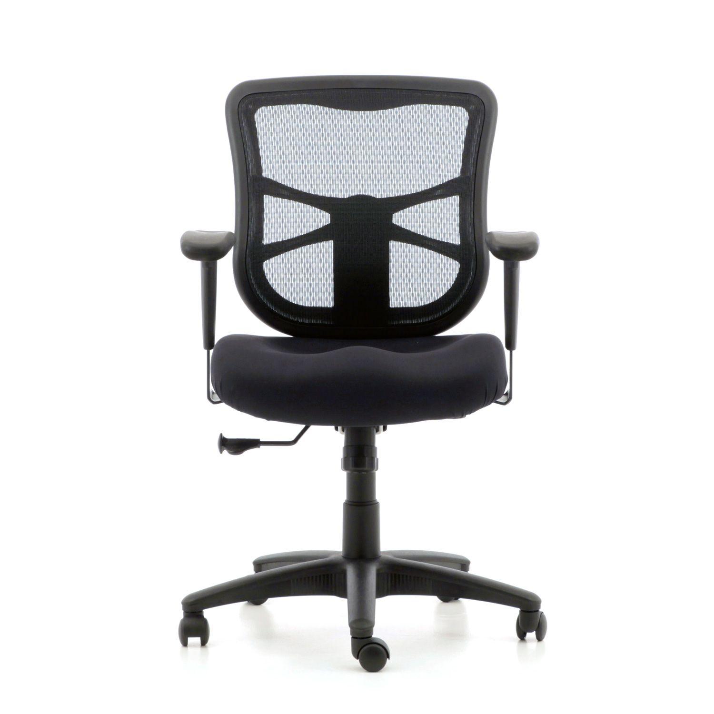 You re in Alera Elusion Series Mesh Mid Back Swivel Tilt Chair  Black  . Alera Elusion Chair Reviews. Home Design Ideas