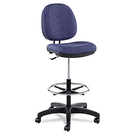 Alera Interval Series Swivel Fabric Task Stool, Select Color