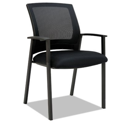 Alera ES Series Mesh Stack Chairs Black - 2 pack  sc 1 st  Samu0027s Club : stack chairs for less - Cheerinfomania.Com