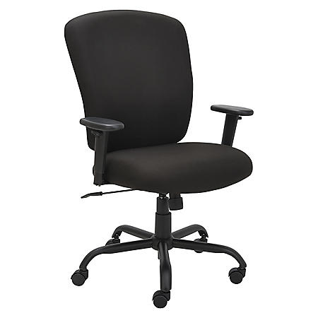 Alera Mota Series Big & Tall Chair, Black