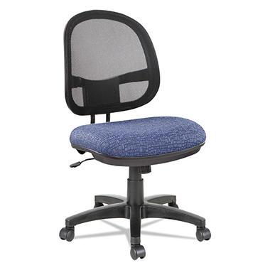 Alera Interval Series Swivel/Tilt Mesh Chair, Select Color