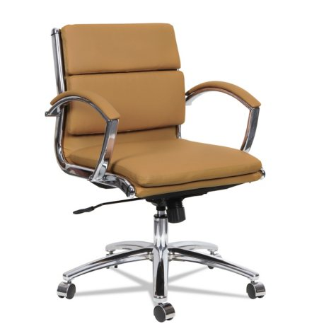 Alera Neratoli Series Low-Back Slim-Profile Chair, Select Color